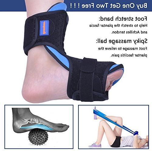 Plantar Fasciitis Foot for Support- Dorsal for Effective Relief Fasciitis Foot Pain Fits or Left Foot
