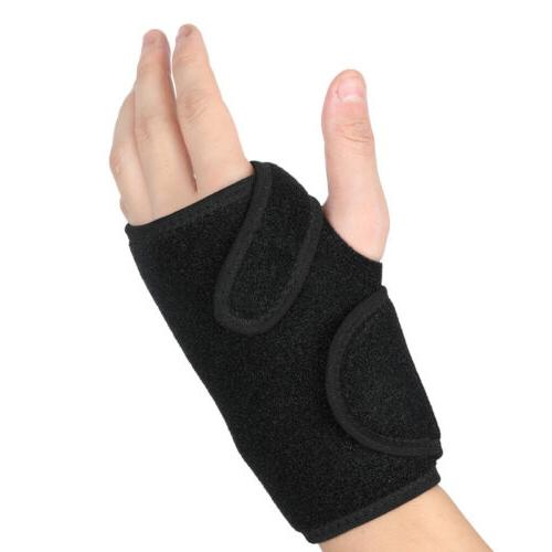 Right Left Wrist Hand Brace Splint Carpal Tunnel Arthritis Sports