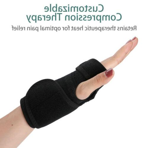 Right Left Wrist Brace Support Splint Carpal Tunnel Sports
