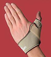 Thermoskin Thumb Splint - Size: Large, Left Hand