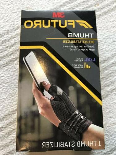 Futuro Deluxe Thumb Stabilizer, Improves Stability, Moderate