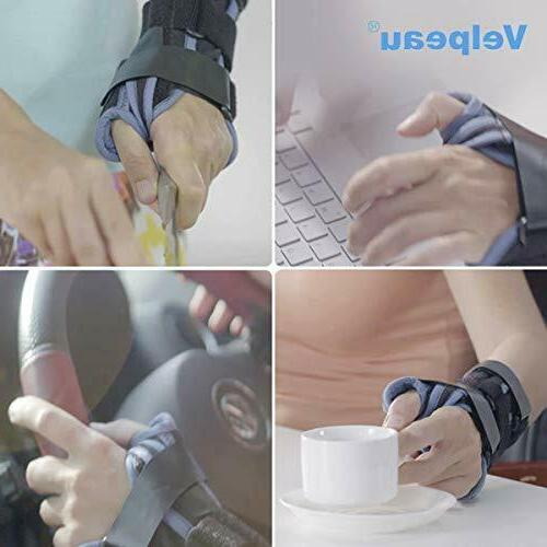 Wrist Brace with Thumb Spica Splint Support Cast Right Hand