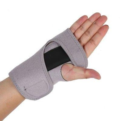 Wrist Carpal Tunnel Splint Sprain Stabilizer Straps