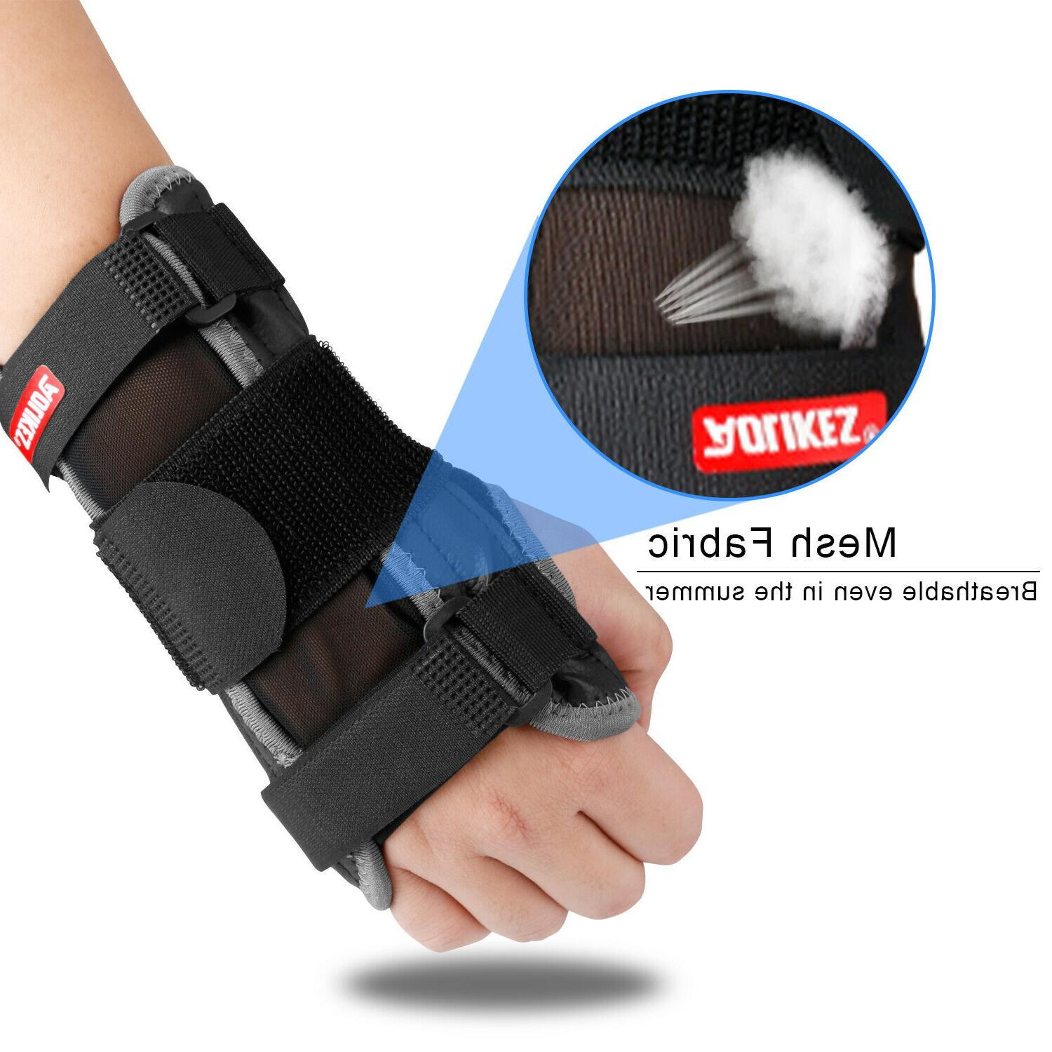 Wrist Carpal Tunnel Compression Splint Pain Gloves