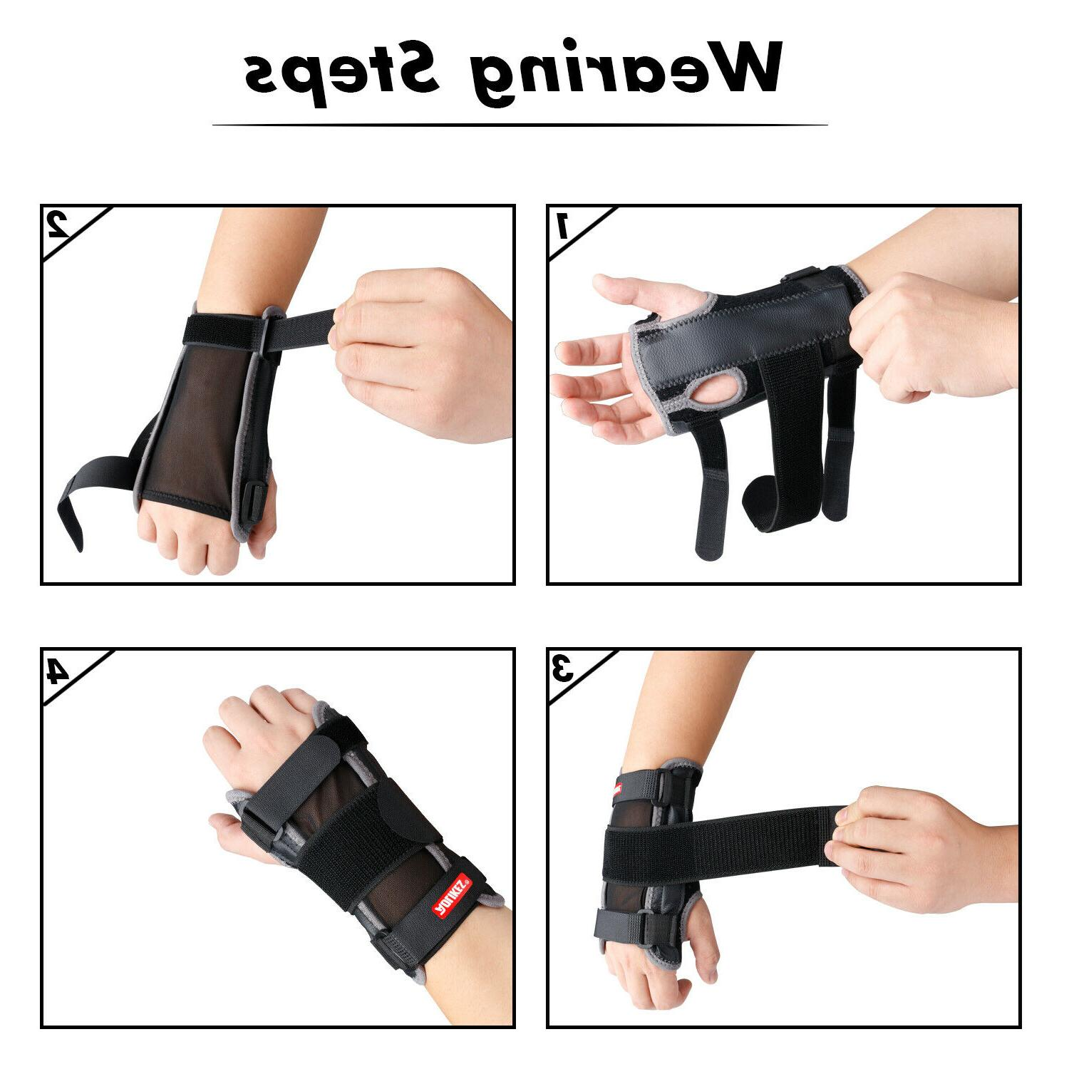 Wrist Hand Carpal Splint Pain