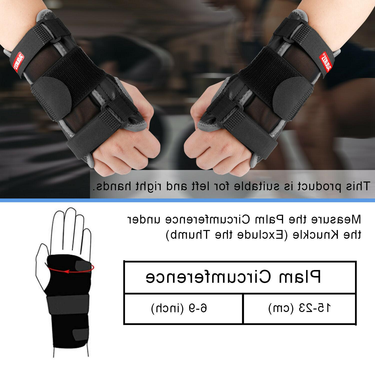 Wrist Brace Carpal Splint Pain