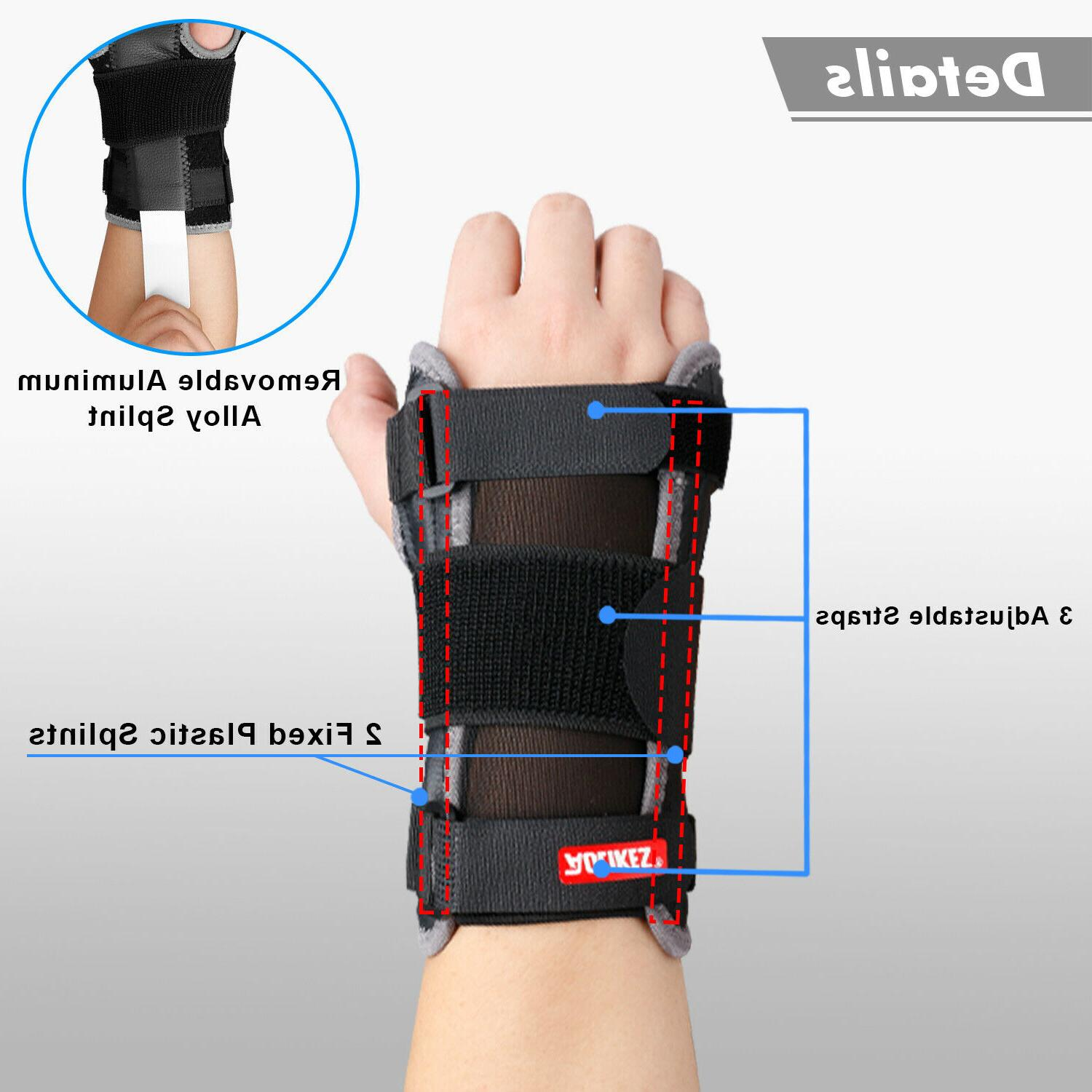 Wrist Support Carpal Tunnel Splint Gloves
