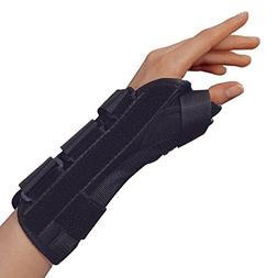 OTC Lightweight Breathable WristThumb Splint, Right, Large