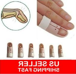 Mallet DIP Finger Support Brace Splint Joint Protection Inju