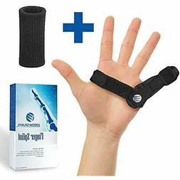 Mallet Finger Splint Trigger Brace Fits Pinky Finger, Index,