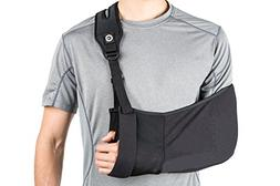 Medical Arm Sling with Split Strap Technology, Maximum Comfo