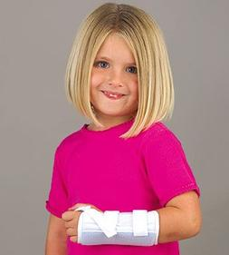 FLA Orthopedics Microban Wrist Splint, Left, Pediatric - Blu