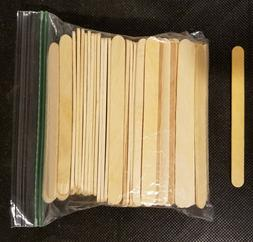 """New Craft Popsicle unfinished Sticks 100 count 4-1/2"""" x 3/8"""""""