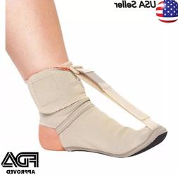 New Plantar Fasciitis Night Splint foot pain Relief brace Ad
