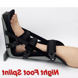Night Foot Drop Splint For Ankle Heel Pain Support Leg Brace
