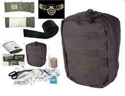 VAS Black Ops TACTICAL TRAUMA FIRST AID KIT #2 PLUS - ISRAEL