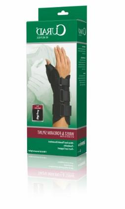ORT18210RXS - Wrist and Forearm Splint with Abducted Thumb,X