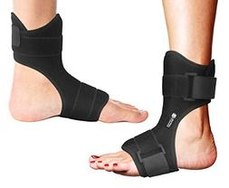 Copper Compression Plantar Fasciitis Night Splint - Drop Foo