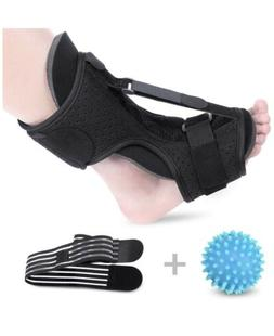 Plantar Fasciitis Night Splint Foot Drop Orthotic Brace with