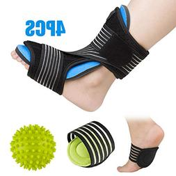 Plantar Fasciitis Night Splint Foot Orthotic Supports Kits -