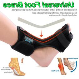 New Foot Drop Plantar Fasciitis Night Splint Orthotics Brace