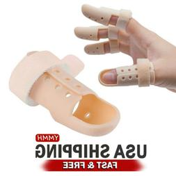 Pro Finger Injury Pain Splint DIP Joint Mallet Support Brace
