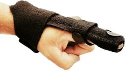 Relief Trigger Finger Splint Brace Straightening Curved Lock