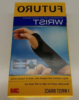 Futuro Reversible Splint Wrist Brace Left or Right Adjustabl