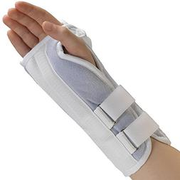 SAI KidsLine Wrist Splint - Soft Foam Pediatric Left Hand