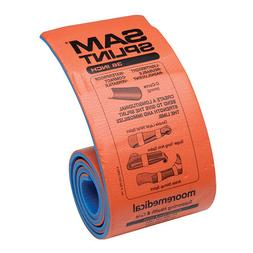 Sam Splint Moldable Splint Foam / Aluminum Orange / Blue 36