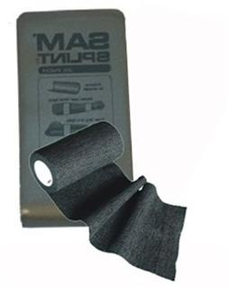 SAM Splint Combo Pack - Black Wrap and Gray Splint by Rescue