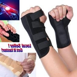 Splint Sprains Arthritis Band Carpal Tunnel Hand Wrist Suppo