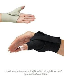 Comfort Cool Thumb CMC Restriction Splints - Black or Beige