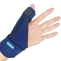 GenetGo Thumb Spica Splint, Trigger Thumb Brace for Sprained