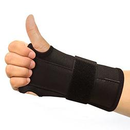 BEST VALUE CARPAL TUNNEL WRIST BRACE - Fits On Either Hand.
