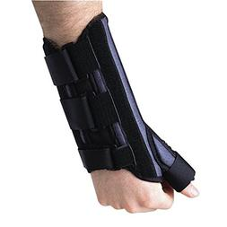 Breg Wrist Cock-Up Splint W/Thumb Spica, Left, L Part #10294