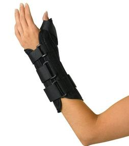 Medline Wrist and Forearm Splint with Abducted Thumb, Right,