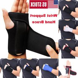 wrist hand brace support carpal tunnel splint