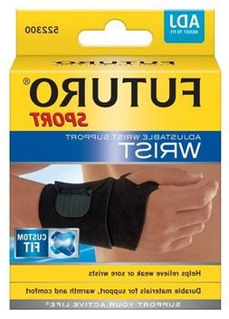 Futuro Sport Wrist Support, Adjustable, One Size, 1  support