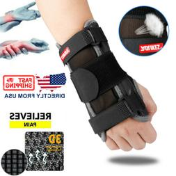 Wrist Support Hand Brace Carpal Tunnel Splint Arthritis Prot